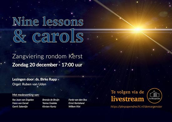 Kerstzangdienst Nine lessons and Carols