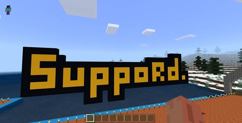 Suppord Zone op Minecraft (6-12 jaar)
