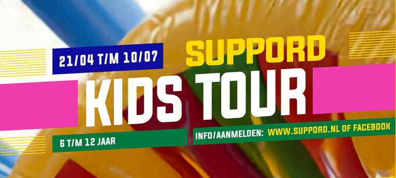 Suppord Kids Tour (6-12 jaar)
