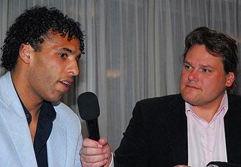 Pierre van Hooijdonk in gesprek met JD Stouten