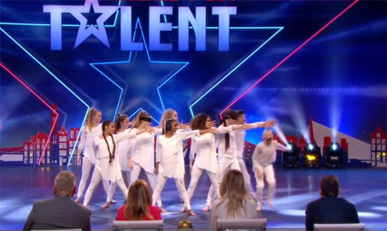 Mysterieuze act van Da Bounce Squad Next Generation in Holland's Got Talent