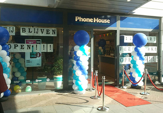 The Phone House blijft open