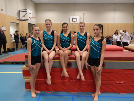 Teams Olympia Papendrecht gestart in turncompetitie